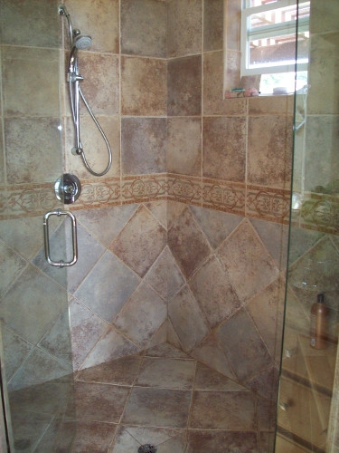 North County San Diego Bathroom Shower Remodel